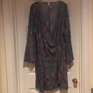 NY Collection Wrap dress